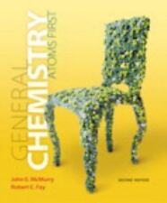General Chemistry: Atoms First by McMurry & Fay (NEW, Hardcover, US 2nd Ed)