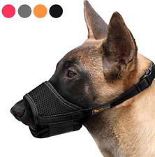 Dog Muzzle Nylon Soft Muzzle Anti-Biting Barking Secure Mesh Breathable Cover
