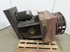 Heat Exhaust Fanblower 10hp Belt Driven 27 Stainless Steel Fan 30x30 Plug 3ph
