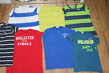 JOB LOT WHOLESALE 25 HOLLISTER TOPS TEE T-SHIRTS GENUINE CLOTHING AUTH AA62+