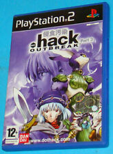 Hack Part 3 - Outbreak - Sony Playstation 2 PS2 - PAL
