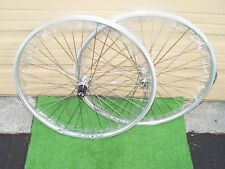 BIKE 650B WHEELSET  RIM BRAKE 27 .5  SLVR  130 MM HUB 8/10 SPD  WEI ZAC19 36 H