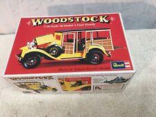 1974 Revell Models 1/25 WOODSTOCK '30 MODEL A FORD WOODY *MINT*