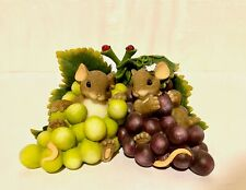 "Charming Tales ""I'm so grape-ful for you"" figurine"