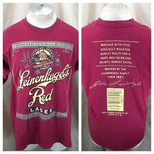 Vintage Leinenkugel's Red Lager (XL) Retro Leine's Brewing Company Red T-Shirt