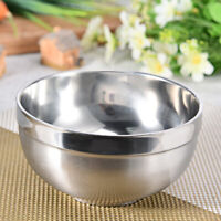 4pcs Stainless Steel Lightweight Serving Bowls Kids Cereal and Ice Cream 12cm