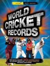World Cricket Records (World Records), Chris Hawkes, Very Good Book
