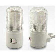 LED Wall Mounting Bedroom Night Lamp Licht Light Plug Lighting Bulb AC 3W XL