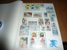 High Catalogue Stamps of the world in Leather Display Album+Free Shipping!