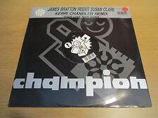 "JAMES BRATTON / SUSAN CLARK - YOUR LOVE RAIN DOWN Vinyl 12"" House CHAMP R 12 281"