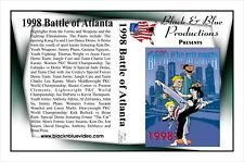 1998 Battle of Atlanta Karate Tournament DVD 2 hours