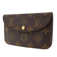 LOUIS VUITTON Ceinture Pochette Belt Bum Bag Monogram Canvas M6933U Auth #ZZ334