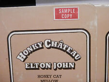 "Elton John-Honky Chateau Promo LP on UNI Original Label and Cover  ""Nice Copy"""