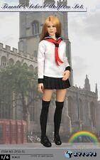 """ZY Toys Zy15-31 1/6 Student School Uniform Suit Clothing Set F 12"""" Female Figure"""