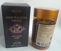 Optimal Health Sheep Placenta Essence 68000+ 100 Capsules 100% Natural