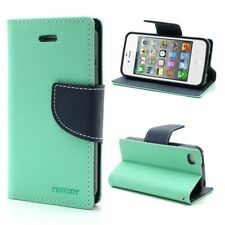 PU Leather Wallet Flip Case for iPhone 4 4S