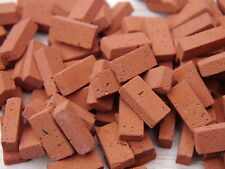 50 1:12th Scale Miniature Dolls House Georgian Red Bricks