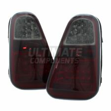 BMW Mini R53 Cooper S 2002-2004 LED Red & Smoked Rear Tail Lights Lamps 1 Pair