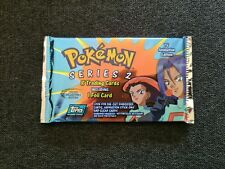 Pokemon Topps Series Two Booster Pack SEALED Special Collector's Edition