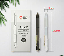 12pcs/Set Retractable 0.5mm Student Gel Pens Office School Supplies Stationery