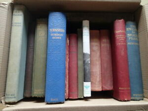 19th -20th Cent books on travel + topographical subject matter priced to clear