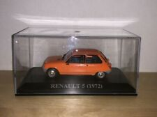 IXO / ALTAYA  - 1972 RENAULT 5 - Orange - 1/43 .SCALE MODEL CAR