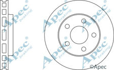 FRONT BRAKE DISCS (PAIR) FOR VAUXHALL SINTRA GENUINE APEC DSK805