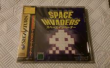 space invaders sega saturn ntsc-j new sealed