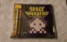 space invaders sega saturn ntsc-j new sealed