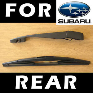 Rear Wiper Arm and Blade for SUBARU Legacy Estate Outback 2003+ 35cm