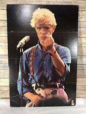 Vintage David Bowie Poster on Foam Board 32 x 22