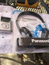 New MP3 Player and New Panasonic Stereo Headphones  Set