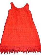 H & M geniales Kleid / Strandkleid Gr. 36 S neon orange !!