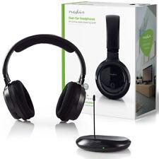 Kabelloser Funkkopfhörer bis zu 100m Reichweite Kopfhörer für TV PC RADIO MP3