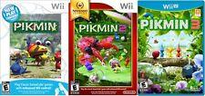 Pikmin Trilogy 1 2 3 Combo Pack [Nintendo Wii & Wii U, NTSC, Adventure] NEW