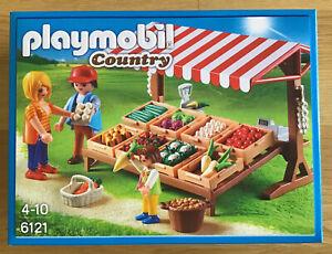 Playmobil * 6121 - Gemüsestand - Marktstand - Country - NEU OVP
