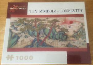 Pomegranate Artpiece Puzzle 1000 Piece Ten Symbols Of Longevity New Unopened