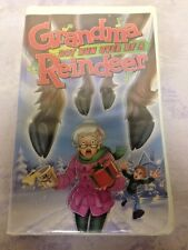 Grandma Got Run Over By A Reindeer (VHS, 2000, Clam Shell)