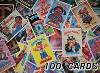 GARBAGE PAIL KIDS ORIGINAL 1980's ~ SERIES 2-13 ~ 100 CARD RANDOM LOT CARDS 1985