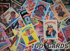 GARBAGE PAIL KIDS ORIGINAL 1980's ~ SERIES 2-13 ~ 100 CARD RANDOM LOT CARDS 1985
