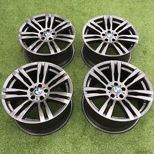 "GENUINE BMW X5/X6 E70/E71/F15/F16 20"" INCH 333M ANTHRACITE GREY ALLOY WHEELS X4"