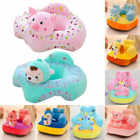 Kids Baby Support Seat Sit Up Chair Cushion Sofa Plush Pillow Feeding Cover UK