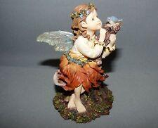 Wee Folkstone Flora Faeriepetals Mint Original Box #36112 Coa 2000 Boyds Bears