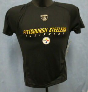 PITTSBURGH STEELERS SMALL SHIRT ON FIELD REEBOK PERFORMANCE APPAREL POLYESTER