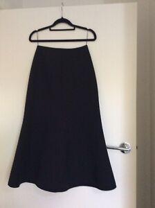 Acler Black Skirt Size 6