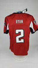 MATT RYAN 2 ATLANTA FALCONS NFL NEW WOMEN'S JERSEY RED SIZE MEDIUM M   MSRP $160