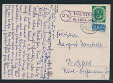 93134) OWL  Landpost Ra2 21a Halstern üb.Löhne (Westf) , AK 1952