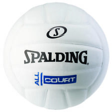 SPALDING WHITE ALL COURT COMPOSITE VOLLEYBALL