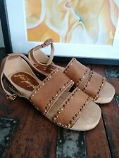 Free people urban outfitters brown Gladiator sandals size 5 new
