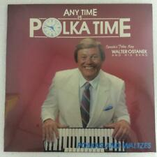 "WALTER OSTANEK  ""Any Time Is Polka Time""  NEW SEALED SLOVENIAN POLKA LP"